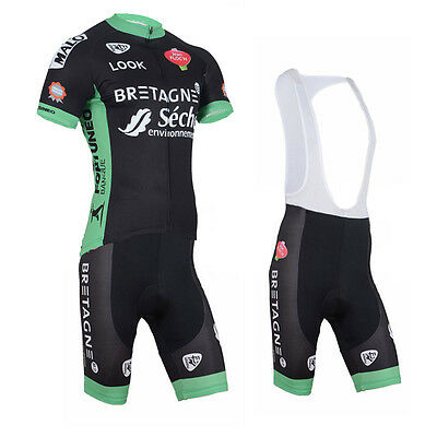 Men Cycling Race Uniforms Quick Dry Bike Jersey Bib Shorts Kits Shirt Pants Sets