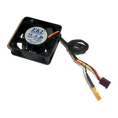 EKL 12V 0.09A 60mm x 20mm 3-Pin Fan With Temperature Sensor R126020BL