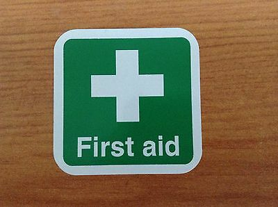 10 X First Aid Stickers