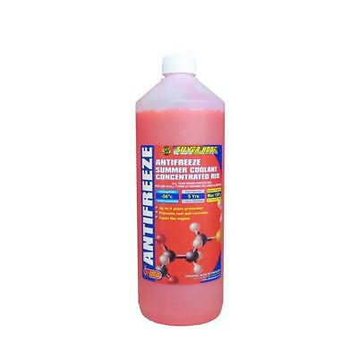 Silverhook Concentrated Red OAT Antifreeze Summer Coolant -56°C 1 Litre [SHAR1]