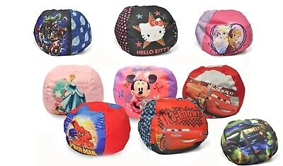 Enjoyable Disney Character Kids Round Bean Bag Chair Toddlers Gamerscity Chair Design For Home Gamerscityorg