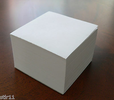 Blank Note Paper Cubes - Padded  3 1/2 x 3 1/2