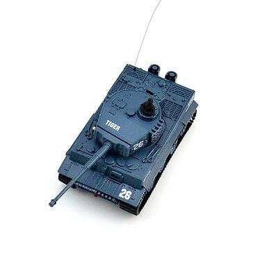 New 1:72 2117 Remote Control Mini RC German Military Tiger Tank with Sound Toys