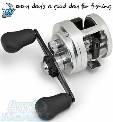 Shimano Calcutta D Series Baitcast Fishing Reel  BRAND NEW @ Ottos Tackle World
