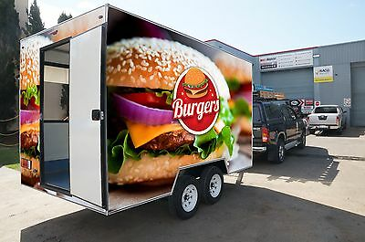 Mobile Burger Takeaway Business For Sale - Trailer 3.8mL
