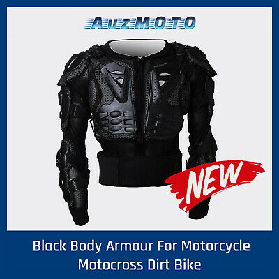 BMX MX Racing Chest Body Armour/Armor Jacket Pressure Suit ATV Quad Dirt Bike