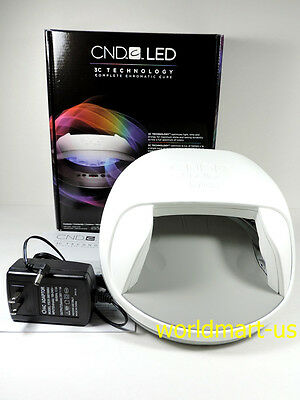 CND Shellac Cures Gel Led Light Lamp 3C Technology 100V-240V US/UK/AU/EU power