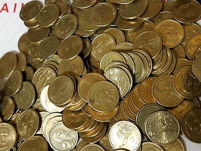 Giant lot of $1000 in Circulated Dollar Coins. Real & Spendable U.S Money! Fast