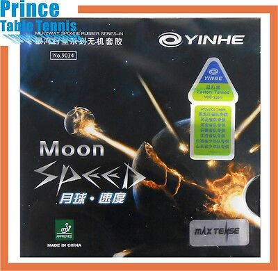 Galaxy (Yinhe) Moon Speed Table tennis Pimples in Rubber (Max Tense)