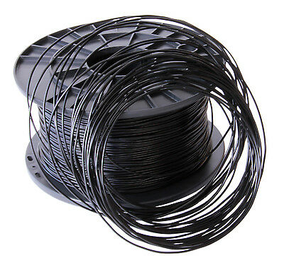 FILAMENT - FIL imprimante 3D FLEXIBLE 1.75mm NOIR 500grs  RUB175NOR