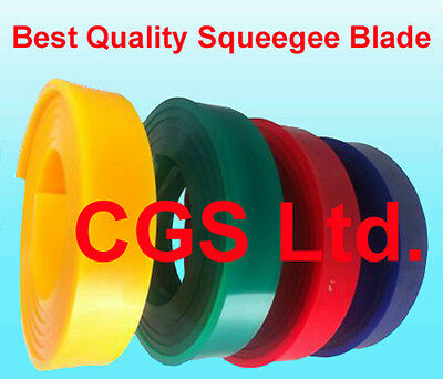 "65//90//65 Triple Durometer Screen Printing Red Squeegee Blade roll 144/""//12 FT"