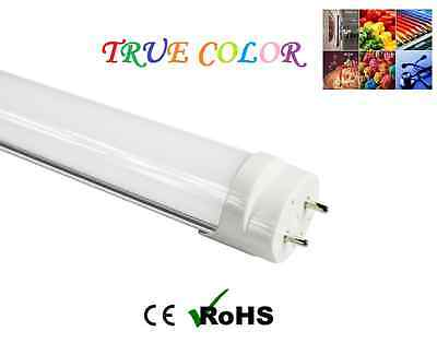 """Dimmable True-Color G13 T8 4FT 48"""" 18W Warm Fluorescent Replacement LED Tubes"""