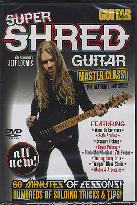 Super Shred Guitar World Master Class Tuition DVD Learn How To Play Jeff Loomis