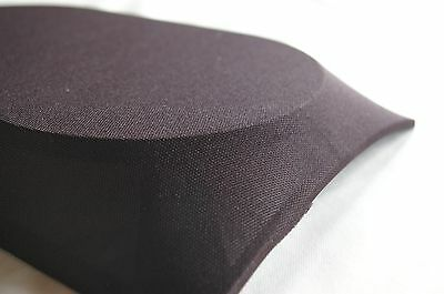 HIGH QUALITY BLACK SPEAKER FABRIC / CLOTH / GRILLS / CABINET0 - 850mm x 1000mm