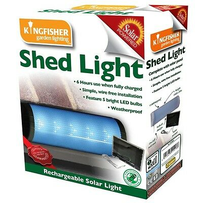 Shed Light | Solar Powered Garden Light | LED | Weatherproof