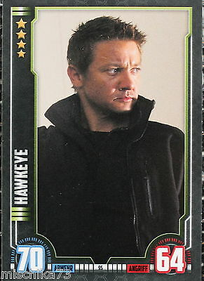 Topps Hero Attax Marvel Cinematic Universe Karte Nr.95 Hawkeye
