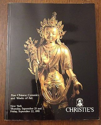 Christie's Fine Chinese Ceramics and Works of Art 1995 New York Catalog