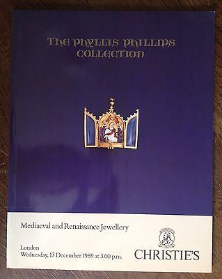 Christie's Mediaeval and Renaissance Jewellery Collection 1989 London Catalog