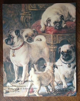 Christie's Man Best Friends 1990 South Kensigton Catalog Dog Cat