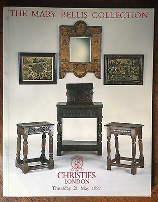Christie's The Mary Bellis Collection London 1987 catalog