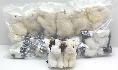 New Wholesale Job Lot of 12 x Cute Cow & Sheep Purses Bags - Free Delivery