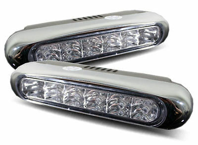 LED DRL Daytime Running Lights, Super bright high power LEDs