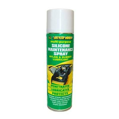 Silverhook Nylon and Rubber Lubricant/Silicone Multi-Purpose Spray 500ml