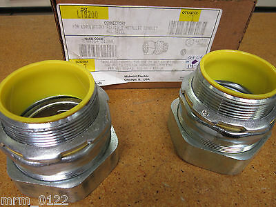"Cooper Crouse-Hinds LTB200 Connectors 2"" (Lot of 2)"