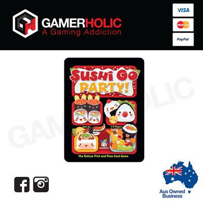Sushi Go Party Card Game - Brand New - Sealed - Australia Stock IN STOCK