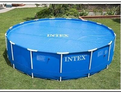 INTEX 10' 12' 15' Solar Swimming Summer Garden Inflatable Pool Protecting Cover