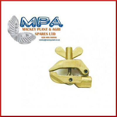 700 Amp Screw Type Cast Brass Earth Clamp