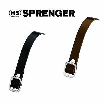 HS Sprenger Smooth Leather Spur Straps, Black or Brown, 49186/4 Fast Free Post