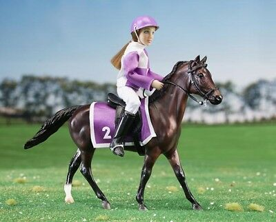 Breyer Horse Classics Collection #62037 Race Horse and Jockey - New Factory Sea
