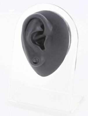 Silicone Plug Right Ear Display - Black Body Bit Version 1