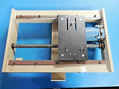 Ball Screw Linear Stage with Slo-Syn 4.5 Amp 200 RPM Stepping Motor & Cable