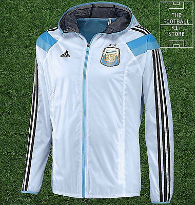Argentina Anthem Jacket - Official Adidas Football Jacket - Mens - All Sizes