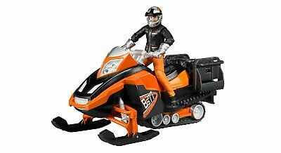 Bruder #63101 Snowmobile with Driver and Accessories - New Factory Sealed
