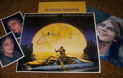 JACKSON BROWNE Autographed Item & Photos  REAL HOT
