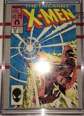 Uncanny X-Men #221 CGC 9.6 ~ WHITE Pages ~ 1st appearance of Mister Sinister