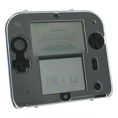 Zed Labz crystal clear polycarbonate plastic hard case cover shell Nintendo 2DS