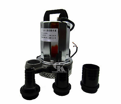 DC 12V, 240W Solar Powered Submersible Deep Well Water Pump Farm & Ranch