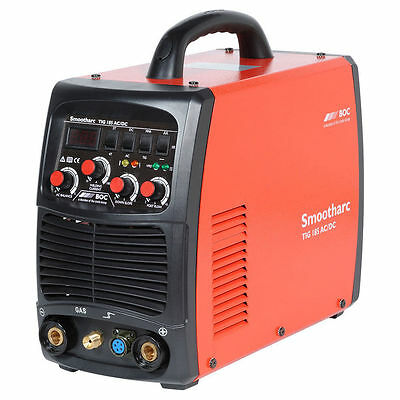 New Inverter TIG 185 Amp AC/DC Welder Compatible with Foot Control + MMA Stick