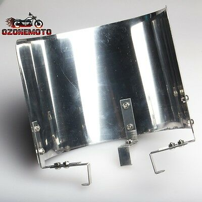 "T304 Stainless Steel 2.5"" 2.75"" 3"" 3.25"" 3.5"" Cone Air Intake Filter Heat Shield"