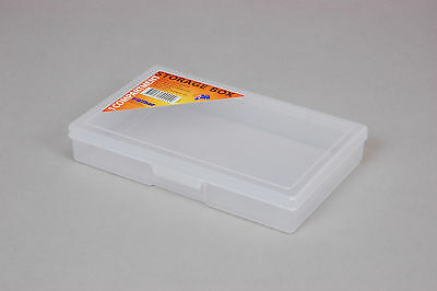 Fischer Plastic Products 1 Compartment Storage Box Medium 1H-029 Clear