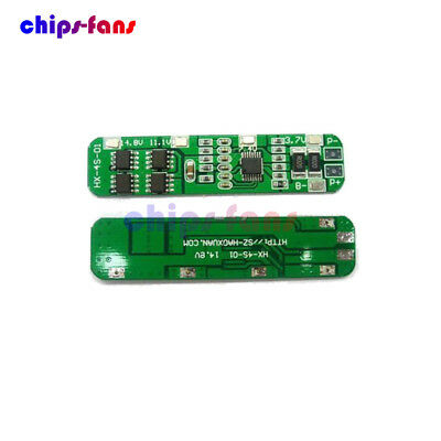 4S 6A Li-ion Lithium Batterie 3.7v 18650 Charger Battery Protection Board CF