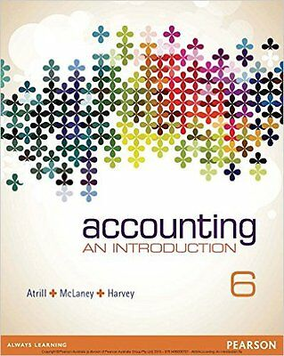 Accounting: An Introduction 6E by Peter Atrill, Eddie McLaney, David Harvey...