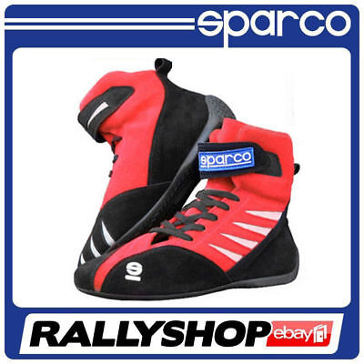 SPARCO karting shoes K-STAR Red  size 47 Suede Leather Kart