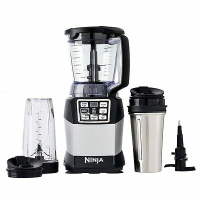 Nutri Ninja Pro Compact System with Auto-iQ BL492 NEW IN BOX BLENDER SMOOTHIES!
