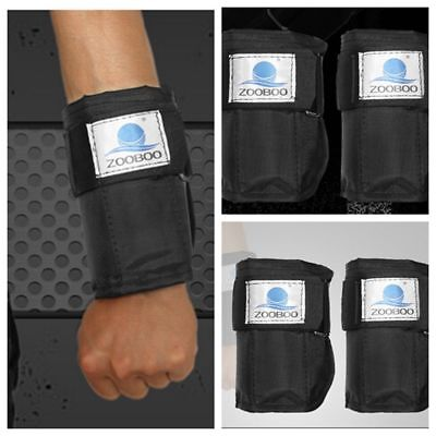 Adjustable Hand Wrist Weights Exercise Fitness Boxing Training 1-4.4Kg(Empty)