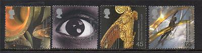 Gb Mnh 2000 Sg2174-2177 Millennium Series - Sound And Vision Set Of 4